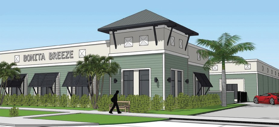 Bonita Breeze Luxury Auto Condos Finishing Construction On Bonita Beach Rd. Parcel